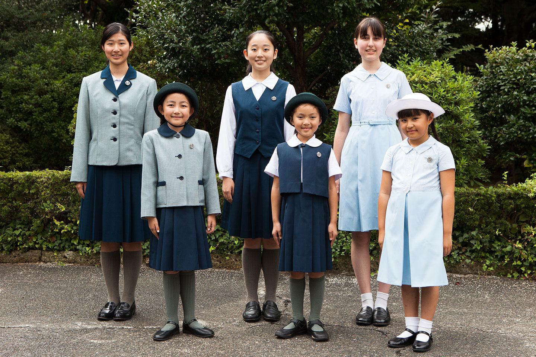 制服・校歌 | 聖心女子学院